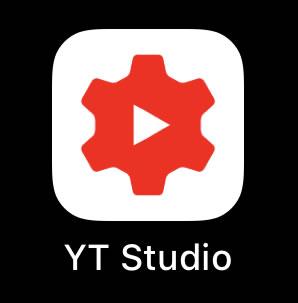 「YouTube Studio」アプリのアイコン画像