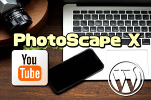 PhotoScapeXでYouTubeやブログのサムネイルを簡単作成【使いやすい画像処理(編集)ソフト】