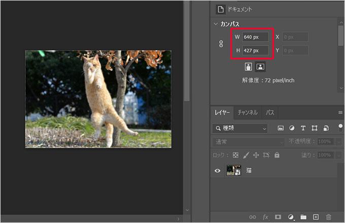 Photoshop(フォトショップ)で画像カンバスを一瞬で合わせる方法⑨
