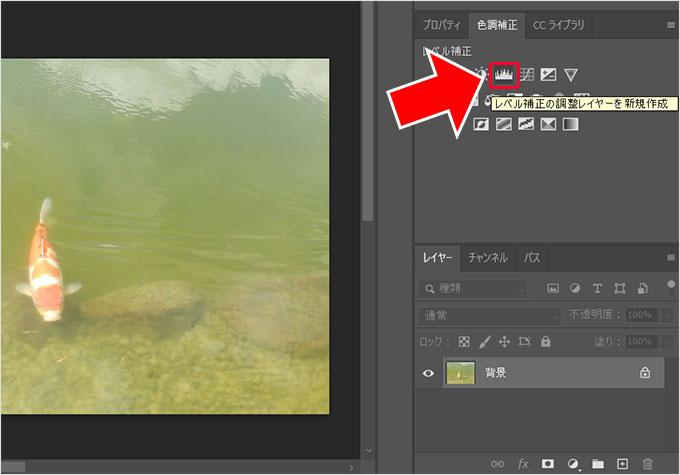Photoshop(フォトショップ)で画像の明るさや色彩を調整して綺麗に見せる方法③