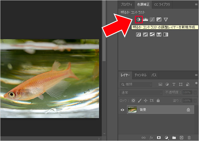 Photoshop(フォトショップ)で画像の明るさや色彩を調整して綺麗に見せる方法⑯