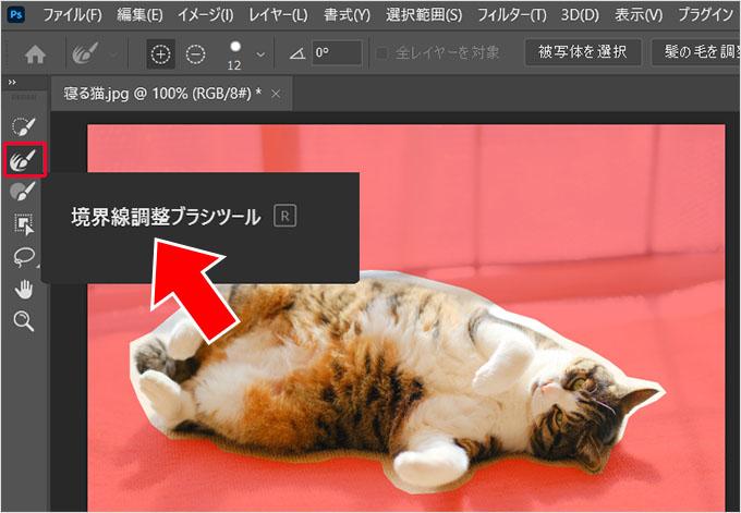 Photoshop(フォトショップ)を使って画像の1部だけを切り取る方法㉖
