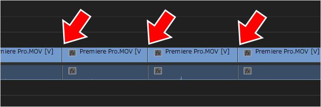 PremierePro(プレミアプロ)でよく使う機能と、その機能をショートカットキーに設定する方法⑥