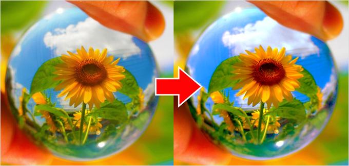 Photoshop(フォトショップ)で画像(写真)のブレ(ボカシ)を修正して見た目を引き立てる方法⑪