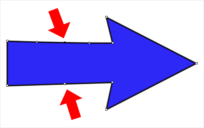 Photoshop(フォトショップ)のカスタムシェイプツールに矢印を復元(追加)する方法⑩