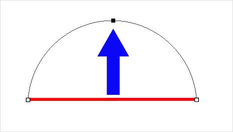 Photoshopで綺麗な曲線を作成(描く)簡単な方法⑥