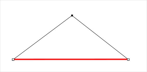 Photoshopで綺麗な曲線を作成(描く)簡単な方法⑩