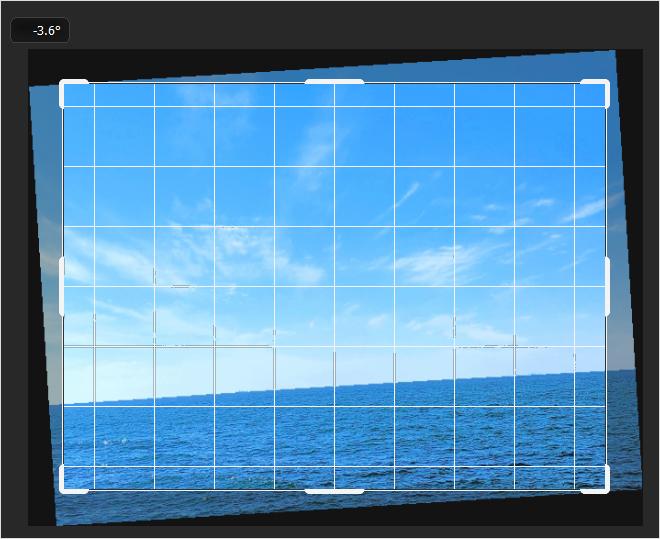 Photoshop(フォトショップ)で傾いた画像(写真)を水平に修正する方法について⑪